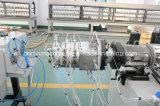 Línea/tubo de la protuberancia del tubo doble que hace la máquina