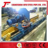 低炭素鋼鉄管の溶接線
