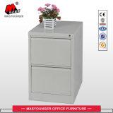 Cabinet de dépôt 100% tiroir à tiroir vertical 2 tiroirs