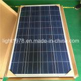 Soncap, Saso, CIQ, Pvoc certificou a lâmpada de rua solar de 6m Pólo 40W
