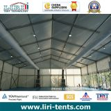 Tenda esterna del partito con condizionamento d'aria ed illuminazione da vendere