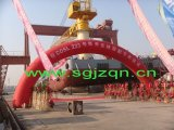 Jinzheng Best Quality Hoch-Stärke Luft-Filled Black Marine Airbag für Ship Launching oder Upgrading