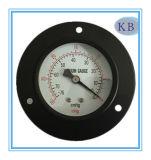 """4 """" مقياس ضغط سوداء فولاذ حالة ظهر"""