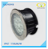 IP67 스테인리스 18W LED에 의하여 매장되는 Inground 빛