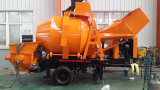 Bomba concreta do reboque com potência Diesel