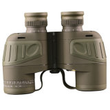 Bijia 7X50 Military Marine Binoculars con Compass y Reticle