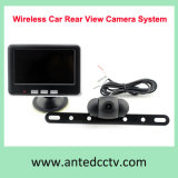 sistema sem fio da câmera do carro de segurança da opinião traseira do veículo 2.4GHz com o monitor de 4.3 polegadas