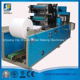 Máquina de dobramento e de gravação do toalete do guardanapo de papel com embalagem