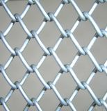 A cerca galvanizada alta qualidade da ligação Chain da manufatura, PVC revestiu a cerca da ligação Chain