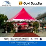3X3m Red Color Pagoda Tent per Outdoor Events