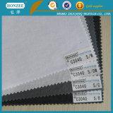 100% scrivere tra riga e riga di fusione del collare della camicia tessuto cotone