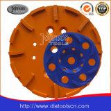 Roda de diamante para o concreto
