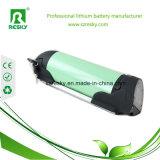 Paquete de la batería de litio del estilo 36V 9ah de la botella para el kit eléctrico de la bici