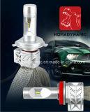 Hoogste Heldere de LEIDENE van het Koper van Vervangstukken Heatsink 8000lm Uitrusting van de Koplamp zonder Ventilator 5202 H7 H11 9005 9006 9012