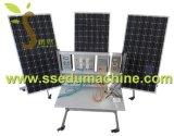 Equipo de enseñanza reanudable del sistema educativo del amaestrador del amaestrador del sistema de la generación de energía solar