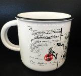 Il latte sveglio di stile della tazza creativa di ceramica della tazza foggia a coppa le tazze di caffè delle coppie di modo