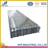Feuille en acier galvanisée de toit pour le matériau de construction