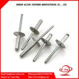 Faisceau en aluminium tirant des rivets