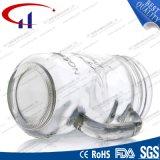 copo do pedreiro do vidro de sílex 380ml com mão (CHM8116)