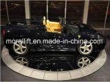 Plataforma giratória interna do estacionamento do carro de Resdential