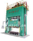 Machine de tissu-renforcé de presse des plastiques (SMC) (HJ078)