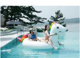 Aufblasbares Einhorn, Schwan-Gleitbetriebe, Pegasus-Pool-Gleitbetriebe, Krapfen-Pool-Gleitbetrieb
