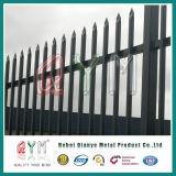 De Europese Omheining van het Staal van de Palissade van de Palissade Fencing/PVC/Galvanized van het Staal van D en van W Hoofd