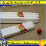 palillo blanco de la cera del hogar 68g estriado velas