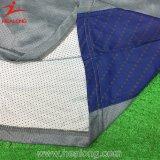 Healong最もよい染料によって昇華させる乾燥した適合のポロシャツ