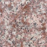 Polished Natural Black/Red/Grey Granite для Flooring, Stairs, Countertop
