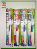 Sehr starkes Griff-Teil-glänzende Kartemassager-Gummi-Zahnbürste
