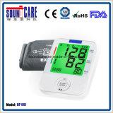 Moniteur coloré électronique médical de pression sanguine de bras de Digitals de contre-jour (point d'ébullition 80J) avec le grand affichage à cristaux liquides