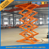 1t-30t Warehouse Scissor Cargo Lift Hydraulic Cargo Elevator per Warehouse