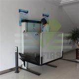 levage de fauteuil roulant vertical hydraulique de maison de ménage d'escalier de 4m