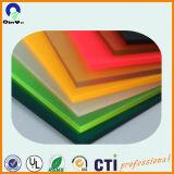 strato lucido Colourful dell'acrilico PMMA della radura del perspex di 5mm alto