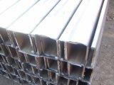 Canal de acero galvanizado fabricado del canal de acero/perfil de acero en frío del canal/sección hueco de acero