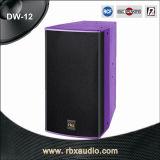 Dw-12 Single 12 Inches tweerichtingsPA Speakers