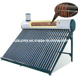 Надутый солнечный подогреватель воды с теплообменным аппаратом