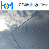 Toughened Solar Clear Low Iron Glass Vidro de economia de energia