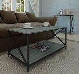 아마존 베스트셀러 현대 금속 측 테이블 목제 커피용 탁자