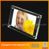 Personalizada Forma Transparente Acrílico Photo Fame / Plexiglass Perspex Art Frame para Display