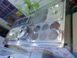 電気三輪車の食堂車は台所用品のセットが装備されている