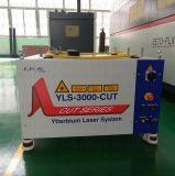 машина резца лазера волокна 3000W с немецкой системой CNC