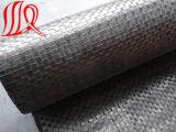 Geotêxtil tecido 300g M2 do poliéster da fibra de grampo