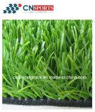 Erba artificiale falsa sintetica esterna poco costosa per le zone residenziali