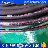 Hochdruckdraht-umsponnener hydraulischer Gummischlauch R1at/1sn R2at/2sn