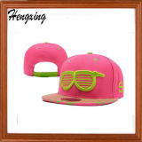 Rosafarbenen Druck-Fernlastfahrer-Hut kundenspezifisch anfertigen