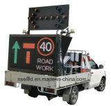 Poteau de signalisation directionnel de la route DEL de l'Australie, panneau de flèche d'éclairages LED
