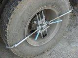 Instrumento de colocación de cuatro ruedas para el coche de carga 3D-24