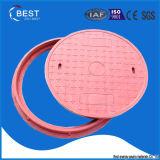 Couverture de trou d'homme de la fibre de verre FRP GRP BMC de qualité